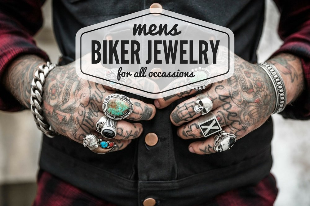 accb07595 Cool Mens Biker Jewelry For Every Occasion — Motorcycle Everything