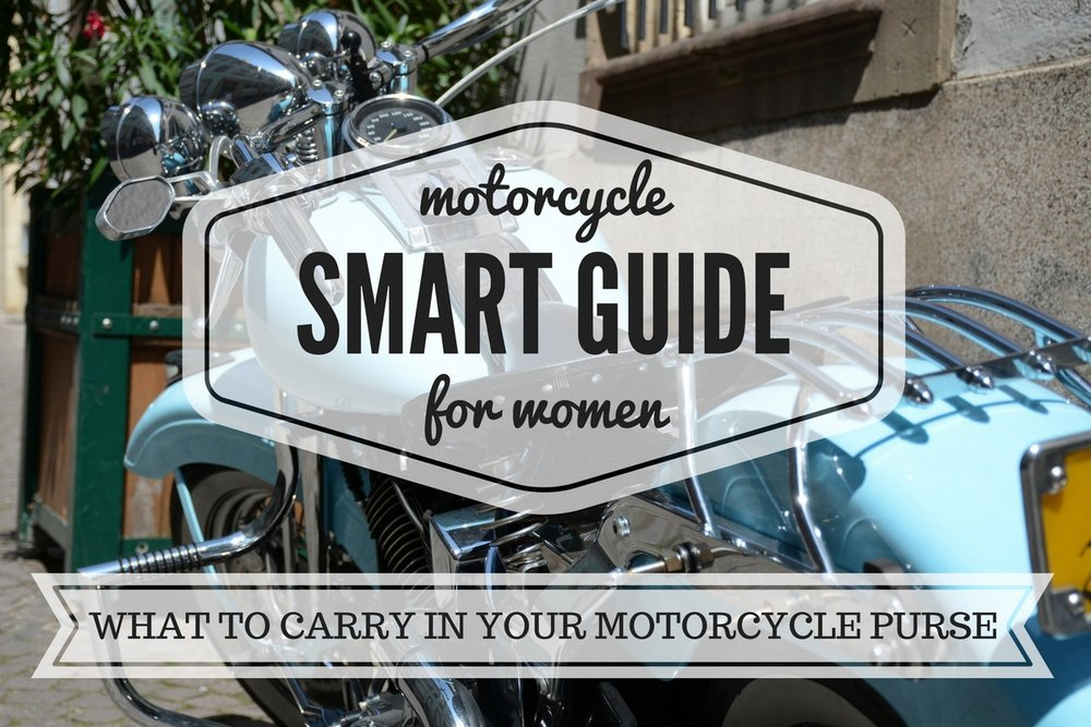 What to Carry in Your Motorcycle Purse