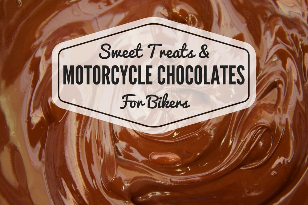 Motorcycle Chocolates and Biker Sweet Treats