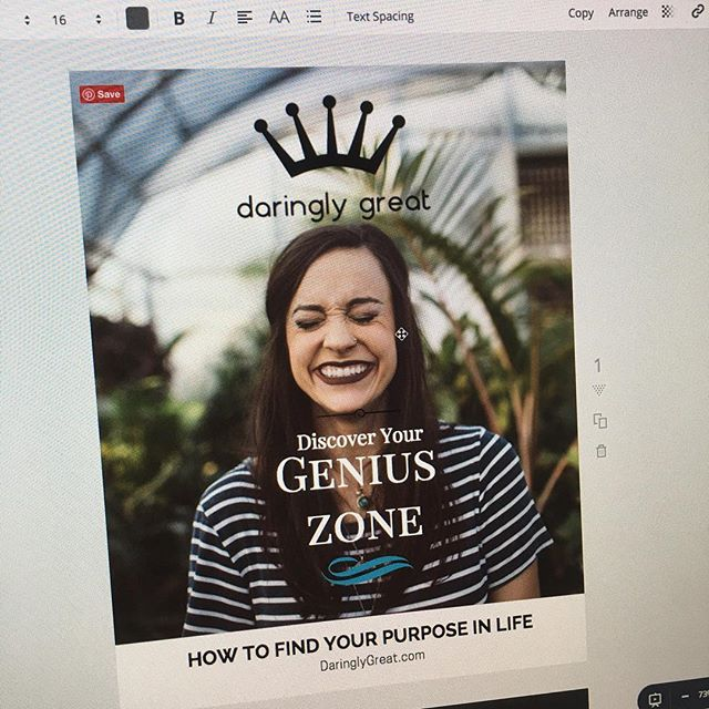 Who wants to Discover their genius zone? Coming soon... #Daringlygreat