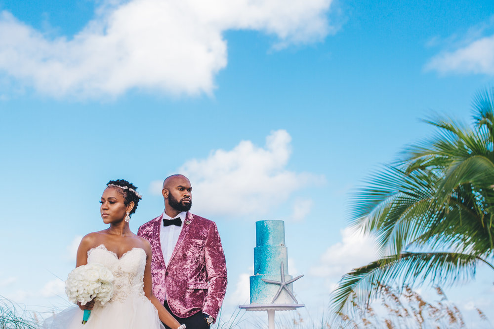 Epic Bahamas Wedding