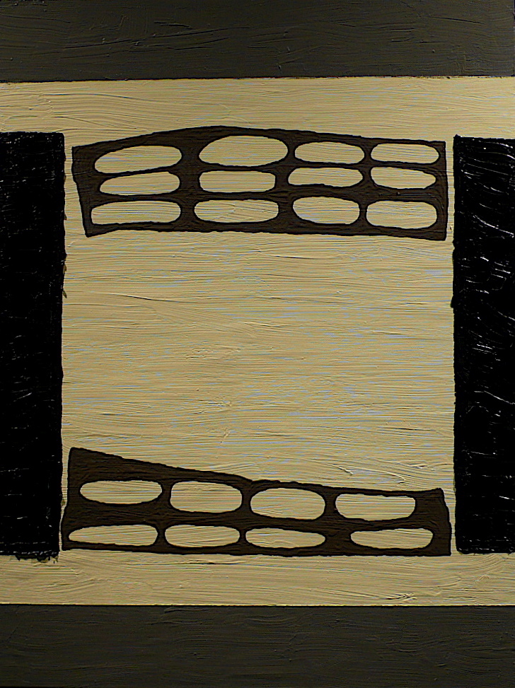 """Room  2011 oil on linen  24"""" x 18"""""""