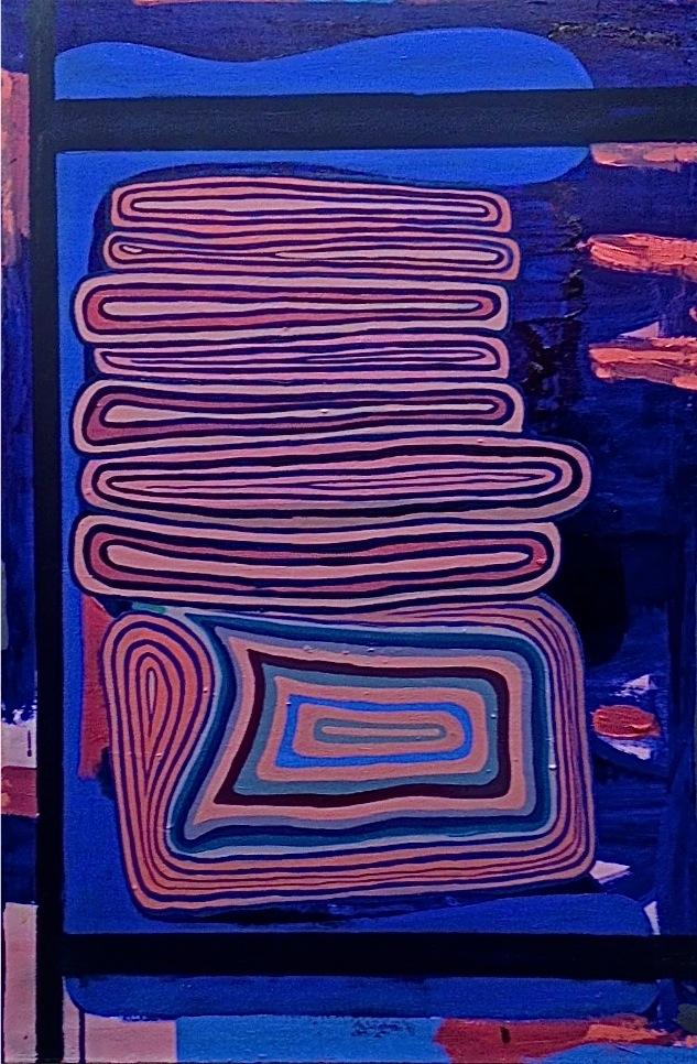 """Las Vegas Sunset  2014  oil on canvas  36"""" x 24"""""""