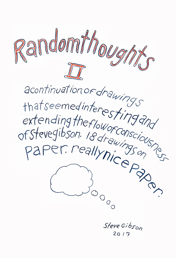 Title Page Random Thoughts ll