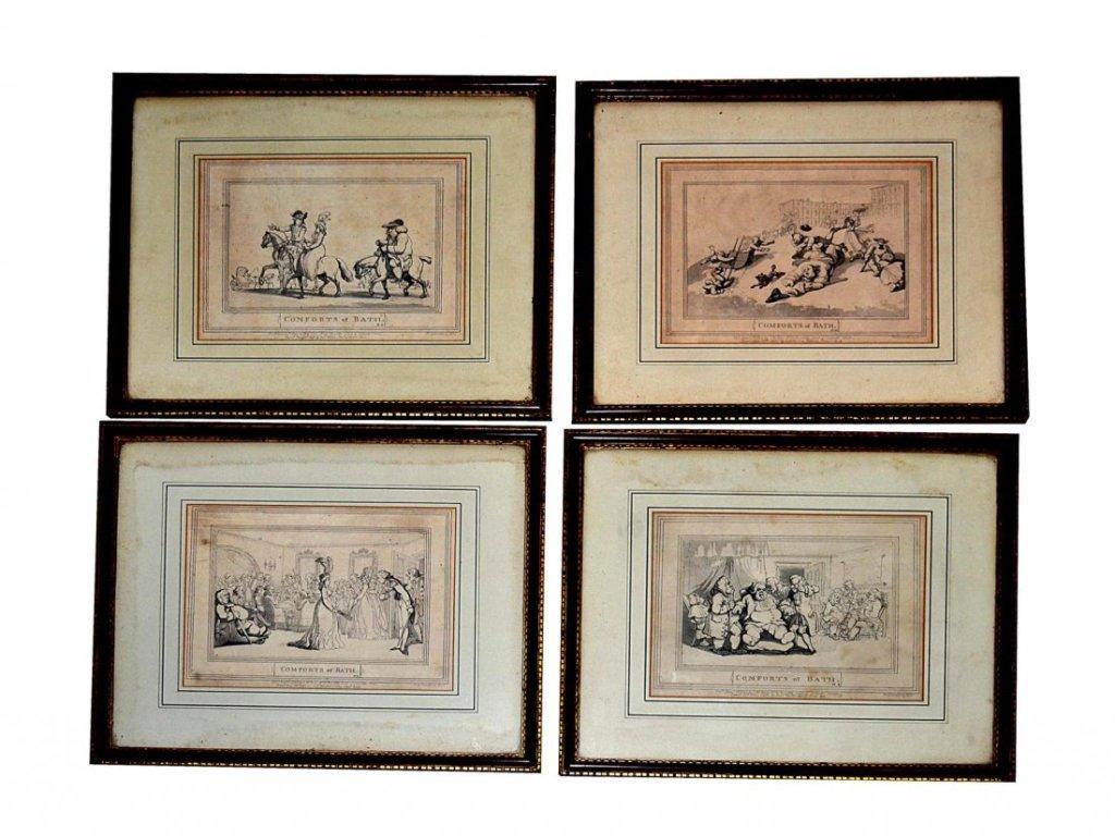 Comforts Of Bath Seven Satirical Prints By Thomas Rowlandson 14