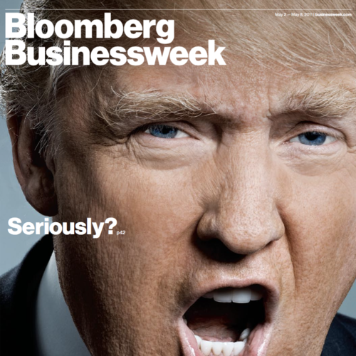 "President Trump: ""I'm Very Serious."" •   Bloomberg Businessweek"