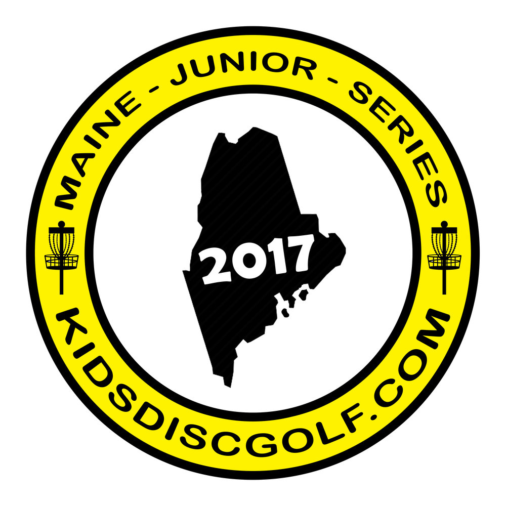 Main Junior Disc Golf Championship Logo