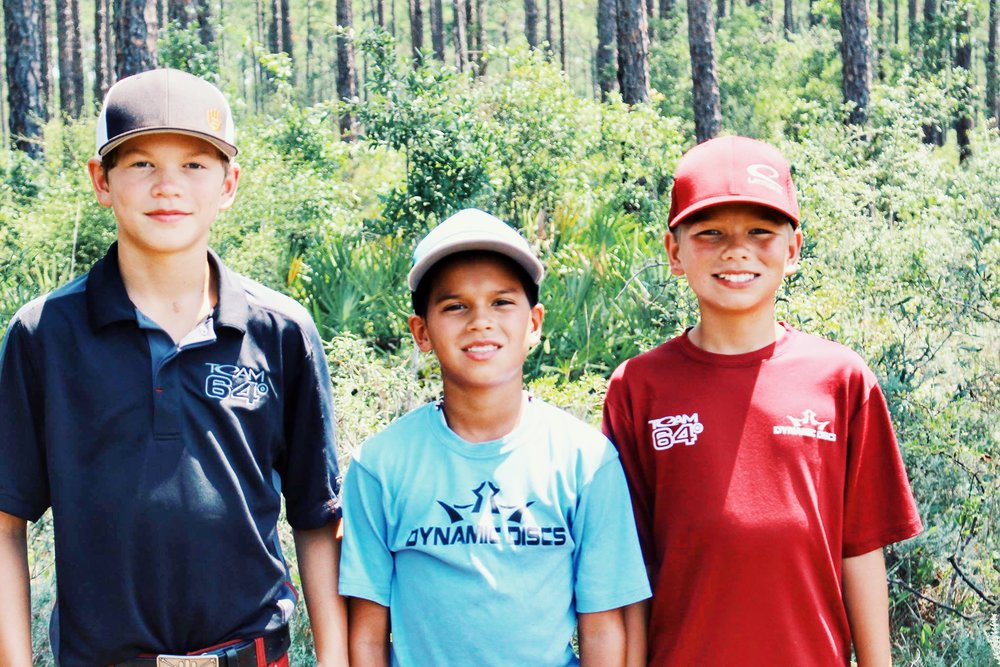 From left to right: Cody, Nicholas, and Cory.