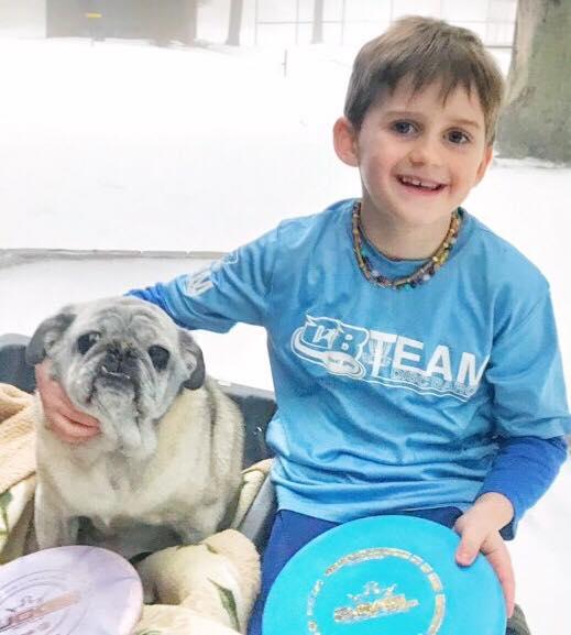 Kaidin Bell | PDGA #86201 | 7 Years old