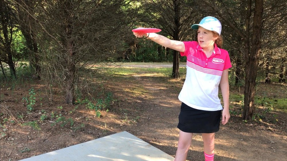Lucy Burks | PDGA #70025 | 15 Years old