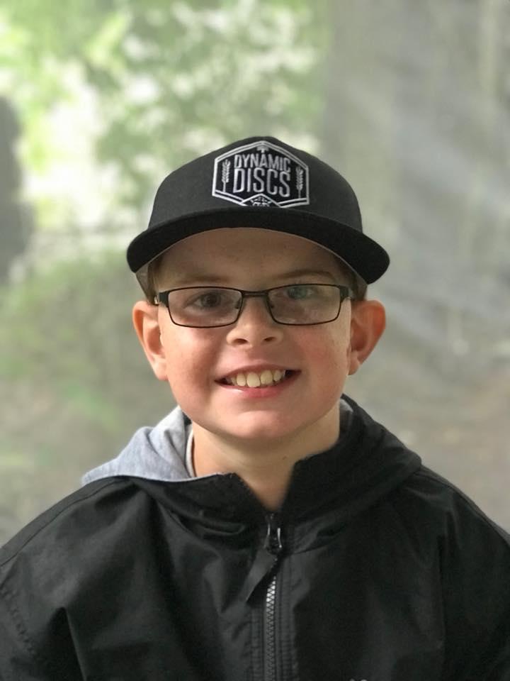 Miles Sayer | PDGA #91543 | 10 Years Old