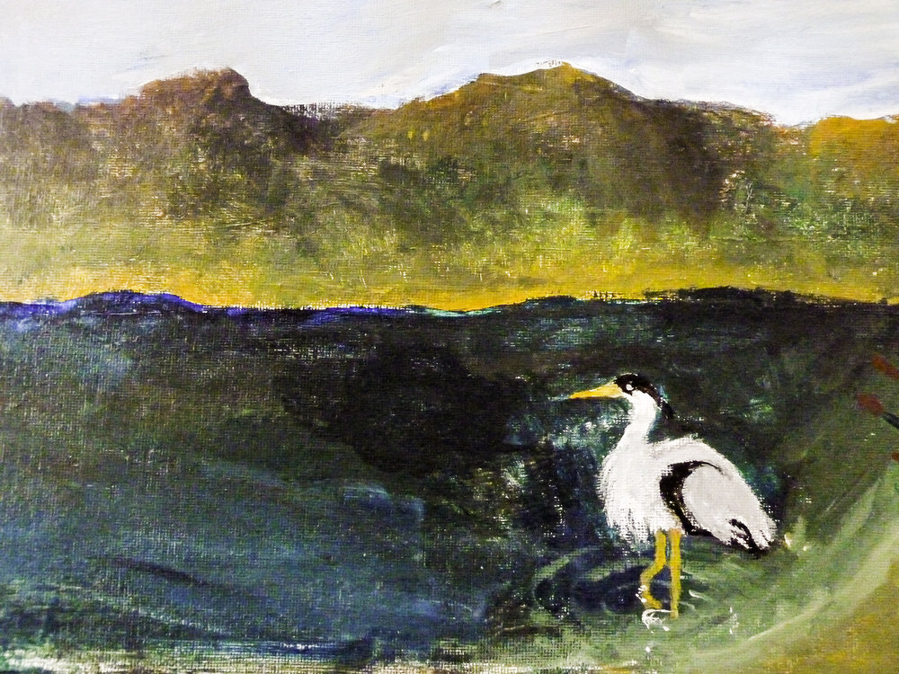 Aiko's Heron Seahurst Park