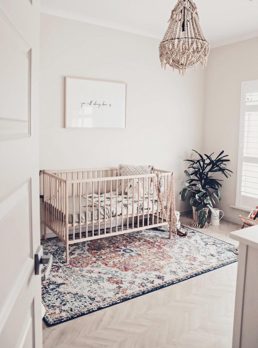 babykamer vloerkleed
