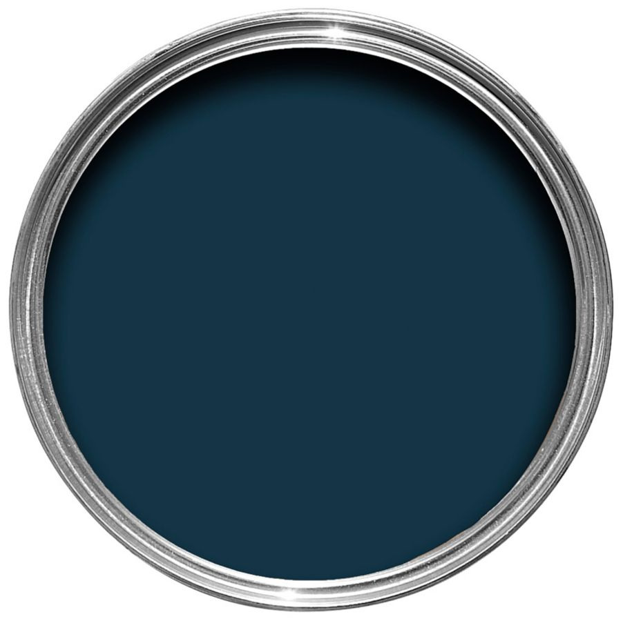 C    OLOURS SILK EMULSION IN NIRVANA    £12 for 2.5L  The most beautiful navy wall paint finished with a soft sheen.