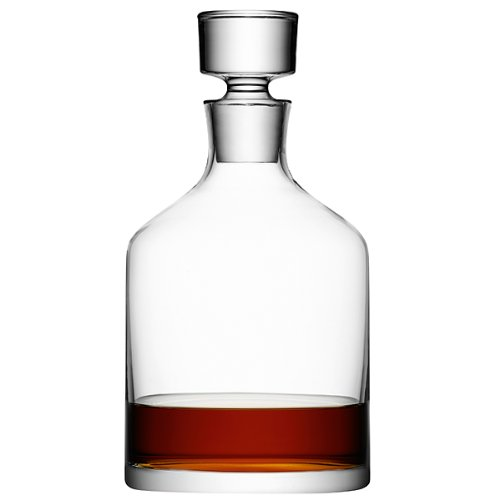 L    SA WHISKEY DECANTER    £55  Display worthy handmade crystal decanter. Chunky and substantial.