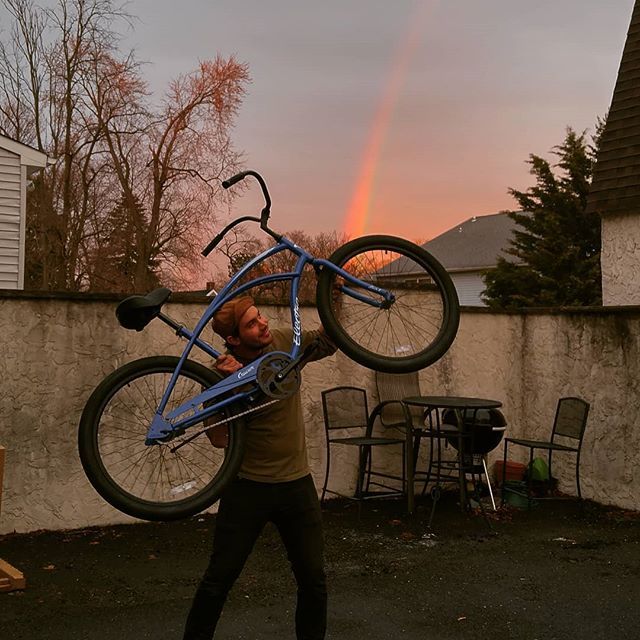 Stop by this weekend! At @matawanbikeshop 732 696 2487 . . . . #bicycles #Matawan #keyport #aberdeennj #shrewsbury #redbank #middletown #oldbridge #cruiser #electra #bike #rainbow #friday #picoftheday