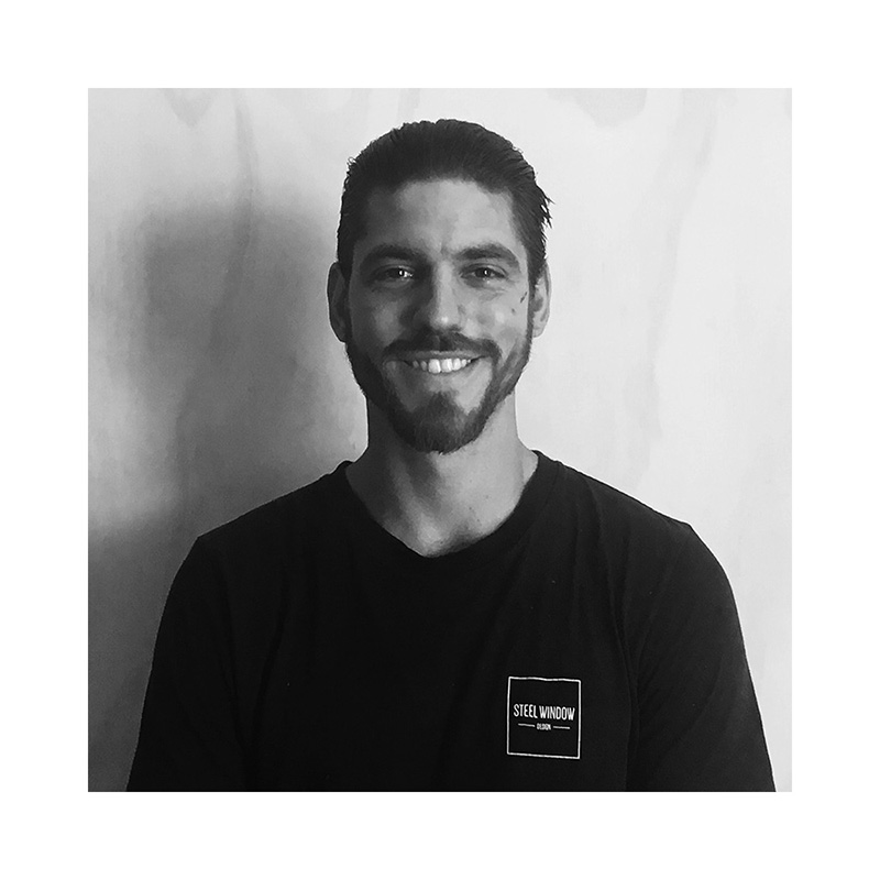 Stefan - Installer and   Steel Fabricator   Stefan is a qualified carpenter and holds a certificate 3 & 4 in building construction. He is Steel Window Design's lead installer and works across all projects requiring installation.