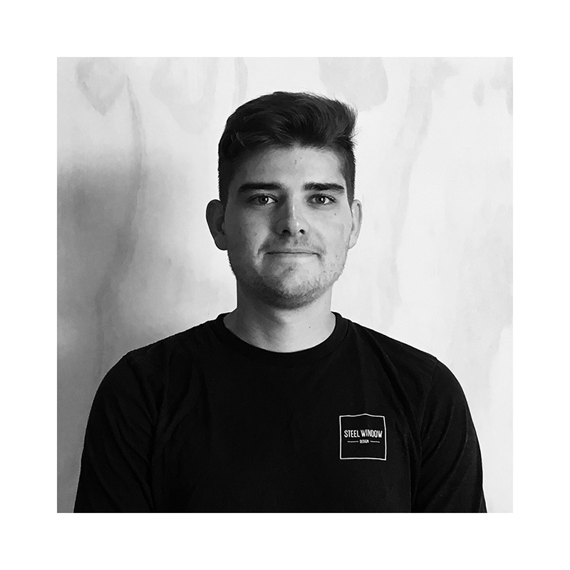 Jack- Steel Fabricator   Jack has seven years' experience and holds a certificate 3 in metal fabrication. As well as general fabrication, Jack also specialises in architectural sculpture and industrial steel work.