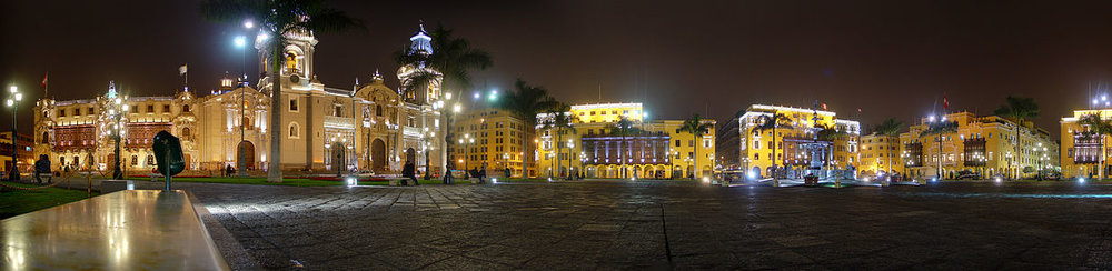 Historic Lima centre