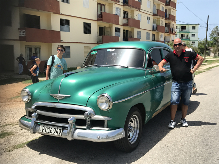Another 1950s Chevvy - with Ben about to head off diving