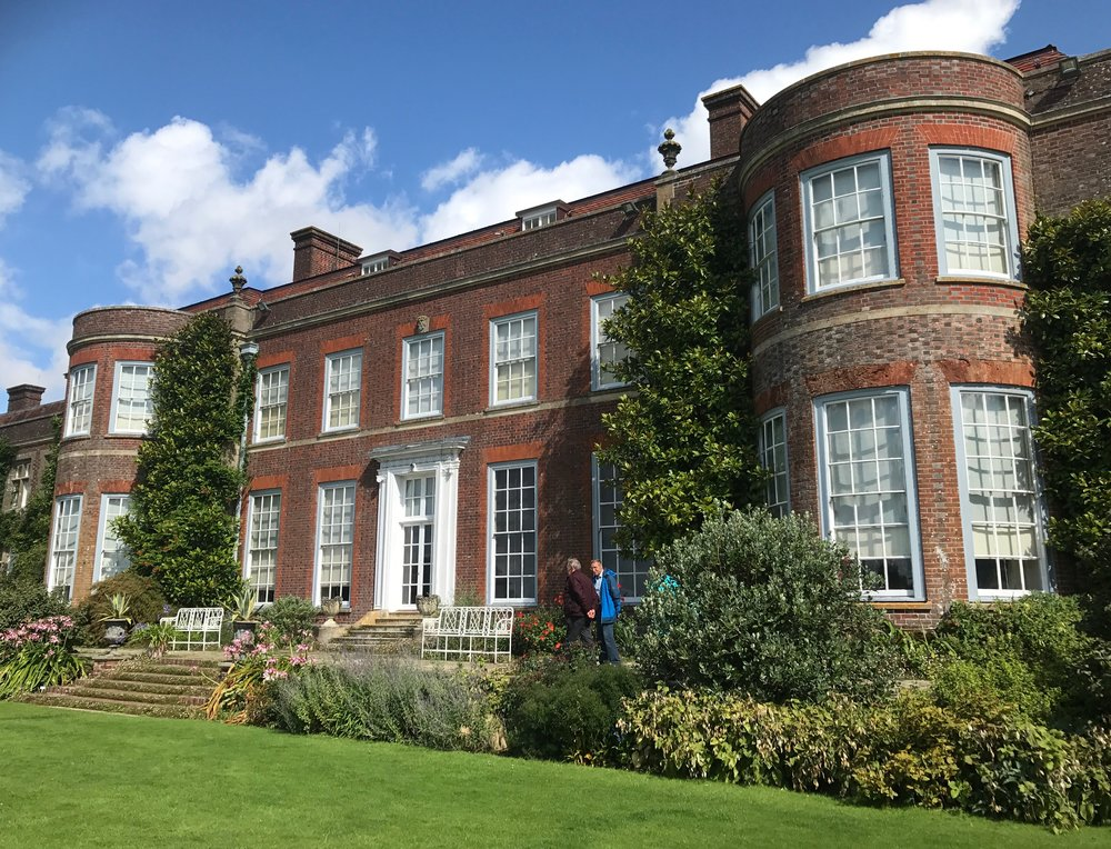 Hinton Ampner House in Hampshire. You'd never know, but this building is actually little more than 50 years old, the previous property having been destroyed by fire and then lovingly rebuilt by its owner in the 1960s, before being donated to the National Trust.