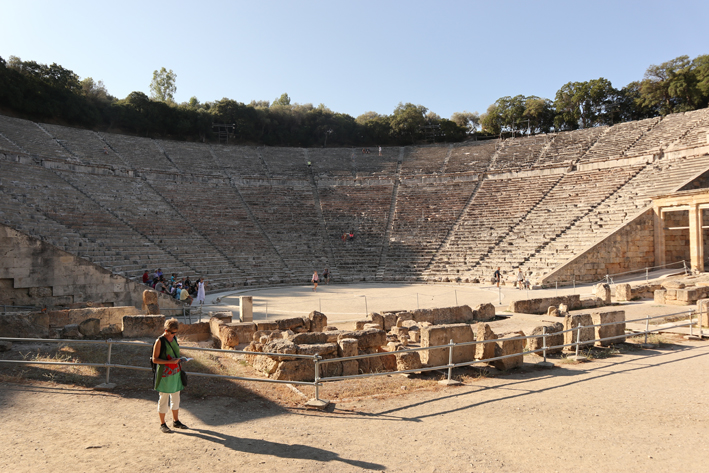 Epidavros - a mere 2400 years old, or so