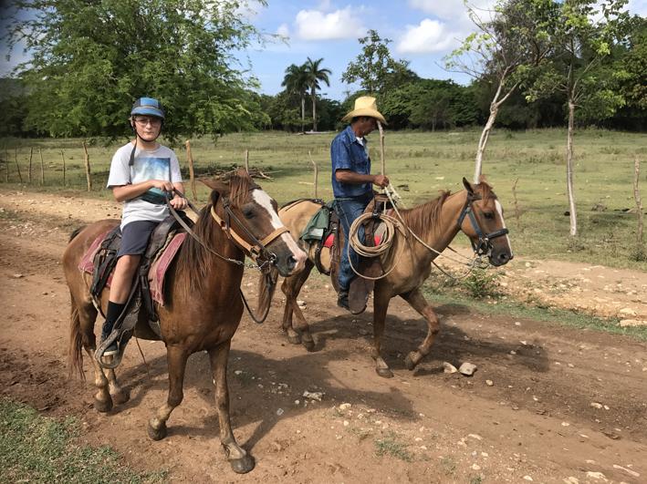Horse riding, Trinidad, Cuba