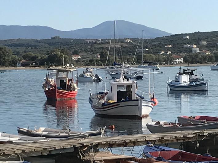 Methoni harbour