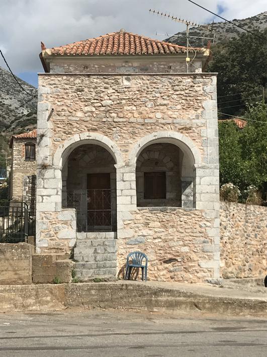 Renovated house at Lagkada