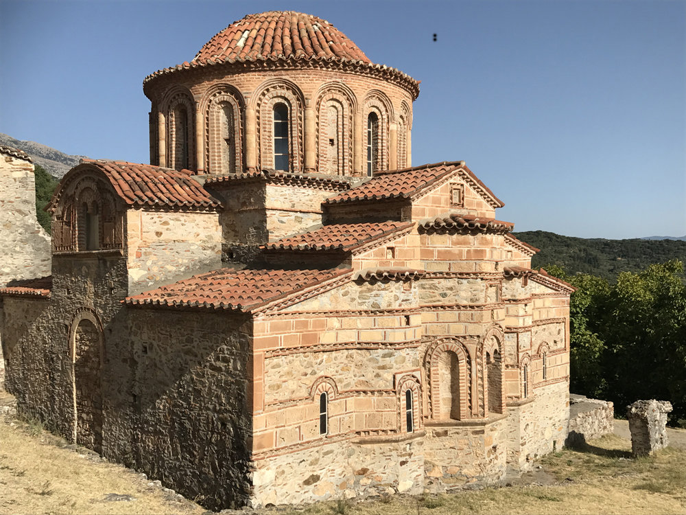 Another gorgeous Byzantine church at Mystras