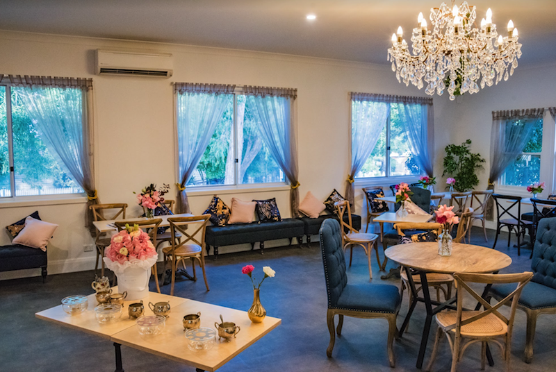 Mary in Montrose has quaint tea rooms available from a minimum of 6 guests to a maximum of 150