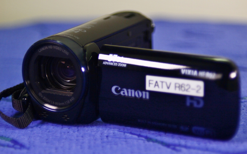CANON R62 Our most basic camera is not one to be taken lightly. Even though it is small! The Canon R62 combines great HD video quality with the ease of simplicity. This is a great camera to start on for beginners. Please take a look at the classes available.