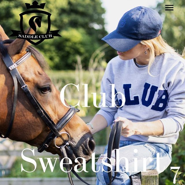 7th DAY OF CHRISTMAS ⭐️ CLUB Sweatshirt & American Denim Cap with your mane babe ⭐️ (Xmas tip: makes the perfect gift set)