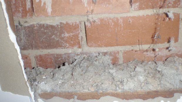 It might start in the roof, but loose fill asbestos fibres can easily migrate to other parts of the home.