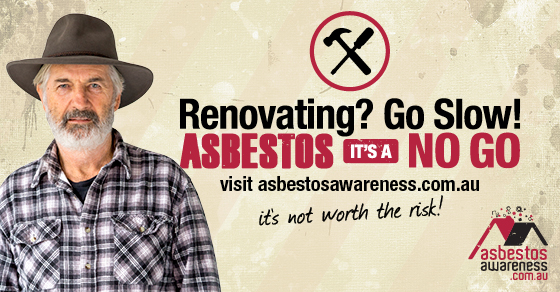 Asbestos awareness month happens every November and is a reminder to home renovators to look out for asbestos.