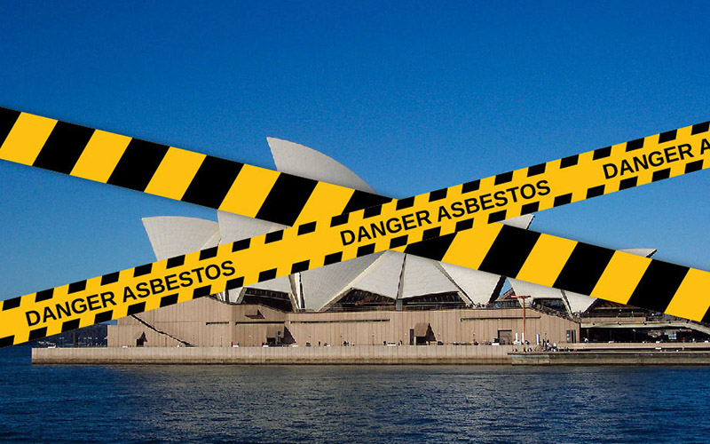 Dangerous Friable Asbestos Found In The Sydney Opera House