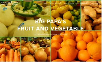 Big Papa's Fruit & Vegetable