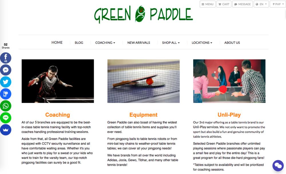 www.greenpaddle.com