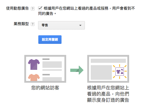 set up dynamic remarketing in adwords