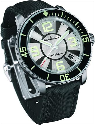 The new Blancpain 500 Fathoms