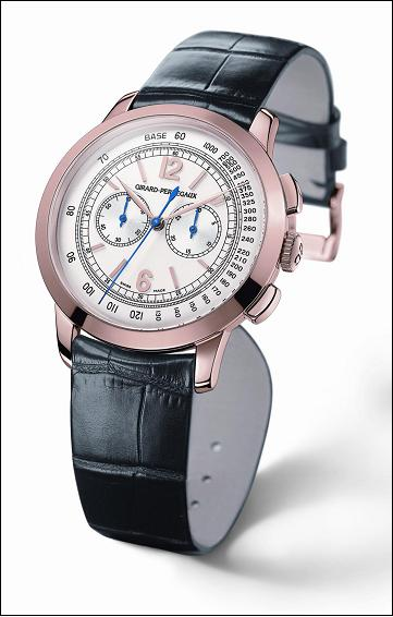 The Girard-Perregaux 1966 Chronograph in 18Kt pink gold
