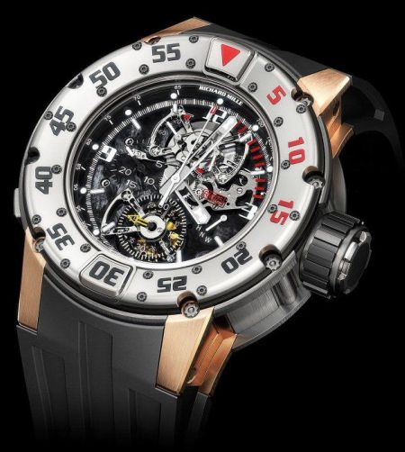 The Richard Mille RM025 Tourbillon Diver