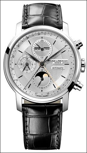 The Baume et Mercier Classima Executives XL Chronograph Calendar