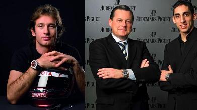 Jarno Trulli and Sebastian Buemi