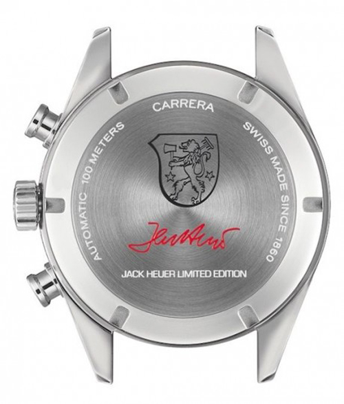 Jack Heuer Carrera Calibre 17 Signature and Coat of Arms