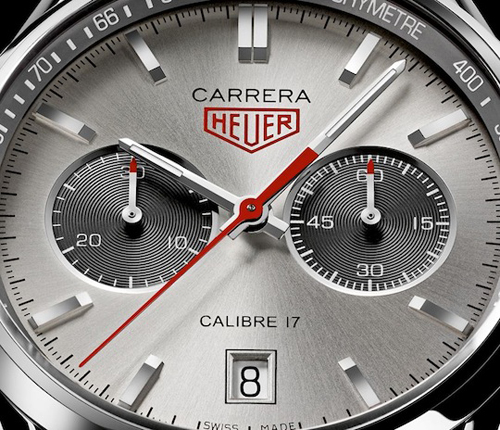 Jack Heuer Carrera Calibre 17 in the bare metal