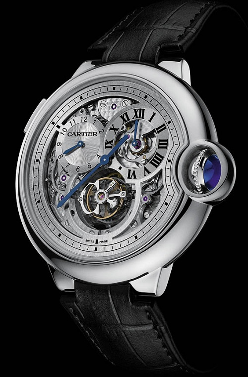 Cartier-Ballon-Bleu-Tourbillon-Dual Time Jump Hours