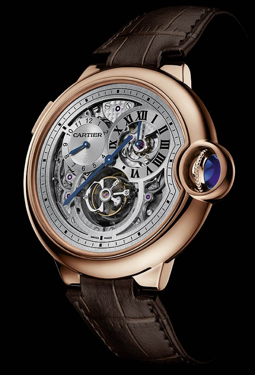 Cartier-Ballon-Bleu-Tourbillon-Rose-Gold-Dual Time Jump Hours