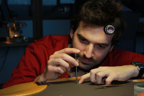 Master watchmaker Raúl Pagès