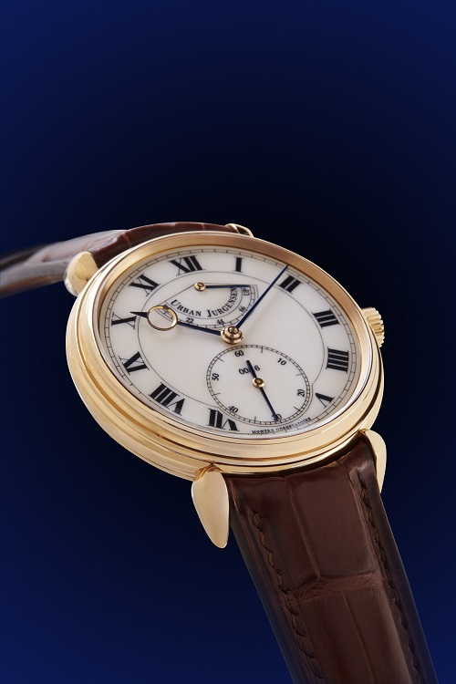 Urban Jurgensen Enamel Dial Watch